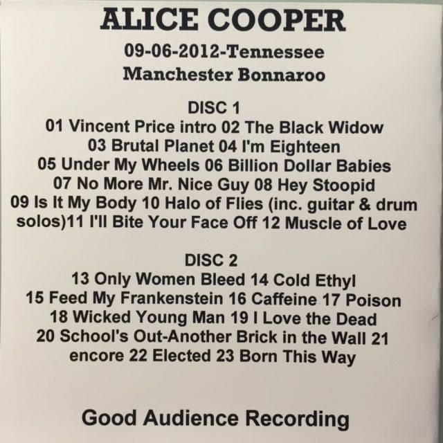 alice cooper only women bleed