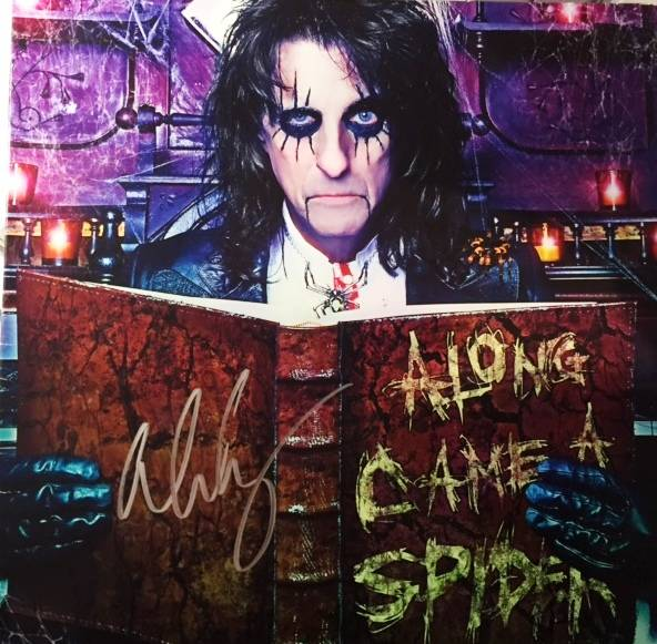 Along Came A Spider - German /  SPV 90601 / Signed / Clear Vinyl