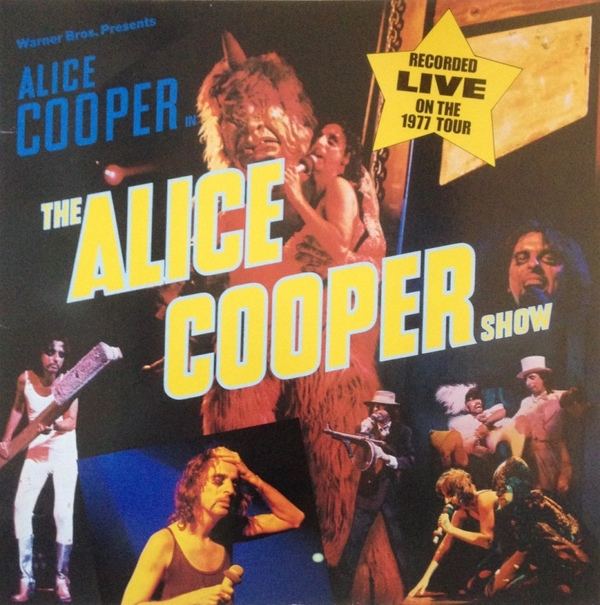 Alice Cooper Show - German / France - 2nd Pressing / WB56439