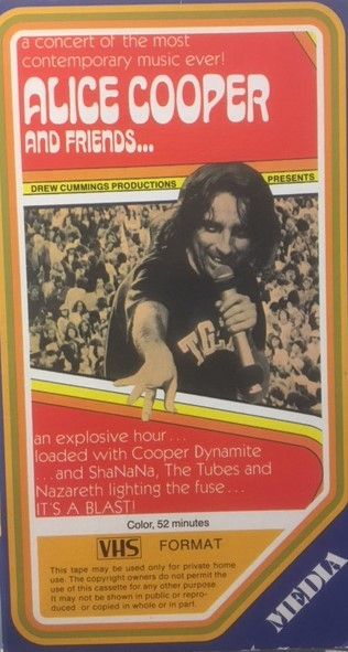 Alice Cooper And Friends - USA / VHS / M427