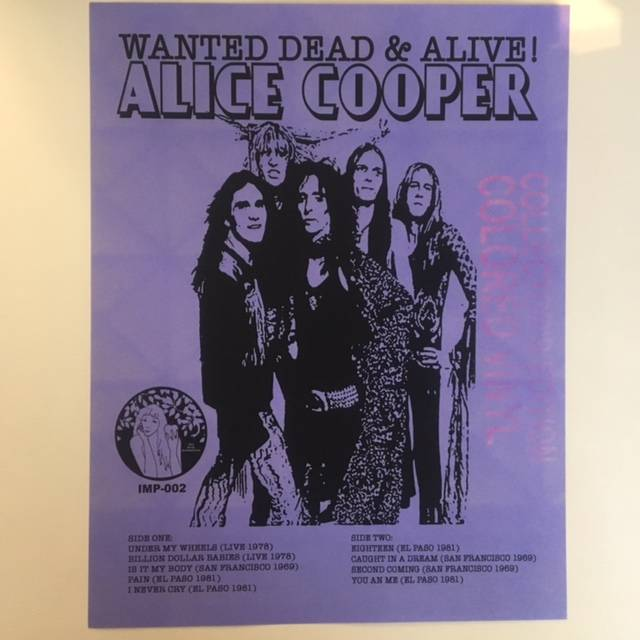 Wanted Dead & Alive! - USA / IMP002
