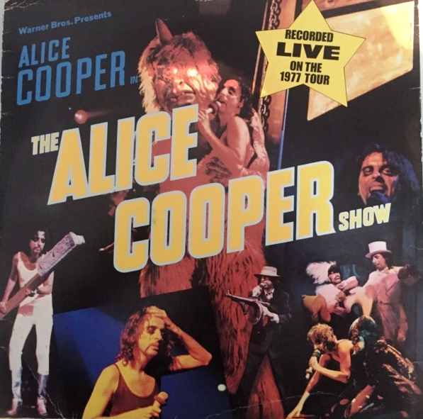 Alice Cooper Show - German - 1st Pressing / Gema / WB56439