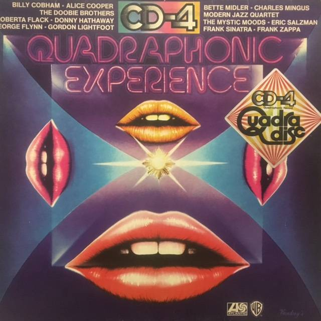 Quadraphonic Experience - German / WEA228008 / Label Variant