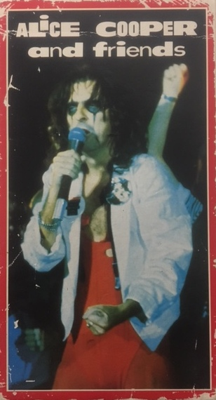 Alice Cooper And Friends - Sweden / VHS / No Name