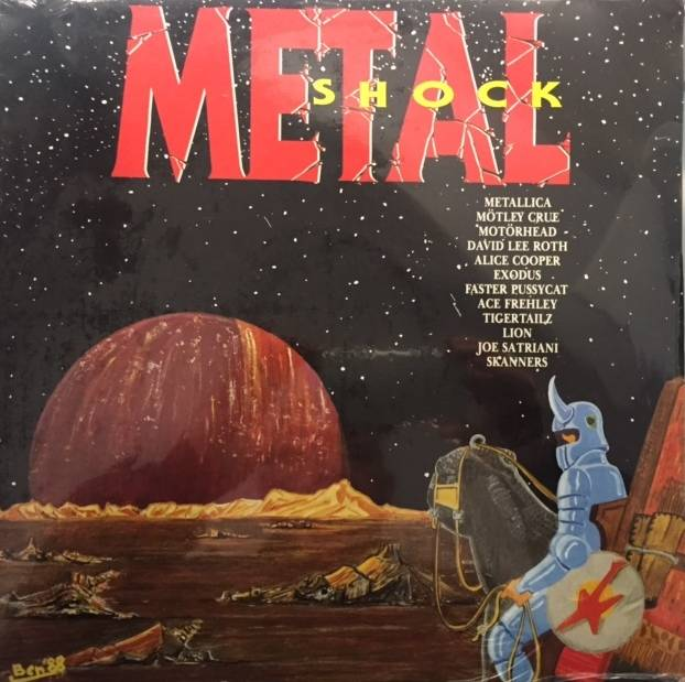 Metal Shock - Italy / COM20736 / Sealed