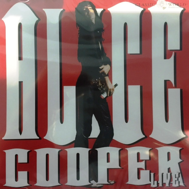 Alice Cooper Live - Canada / CD / CWP1202 / Sealed