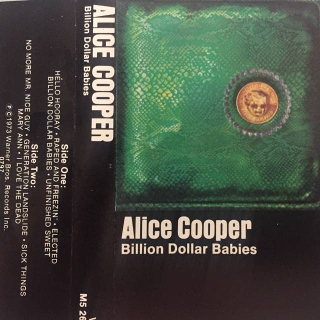 Billion Dollar Babies - USA / Cassette / M52685