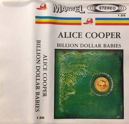 Billion Dollar Babies - Poland / Cassette / 135