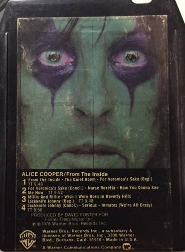 From The Inside - USA / 8 Track / WB83263