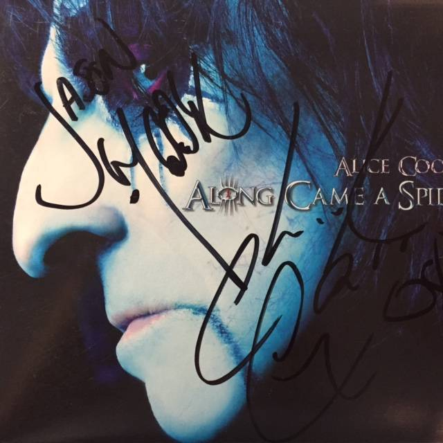 Along Came A Spider - USA / CD / Signed / SPV90602CD