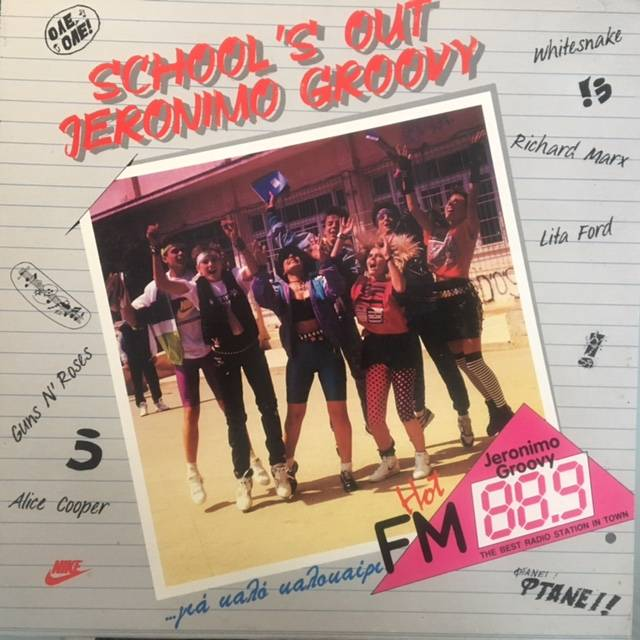 School's Out  / Jeronimo Groovy - Greece / 241985