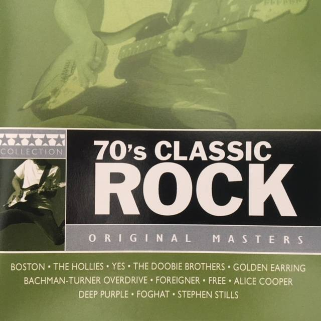 1970's Classic Rock - USA / CD / OPCD1855