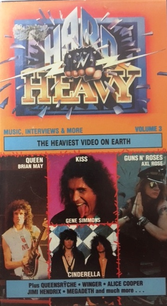 Hard n Heavy Vol 3  - German / VHS / CMV1135