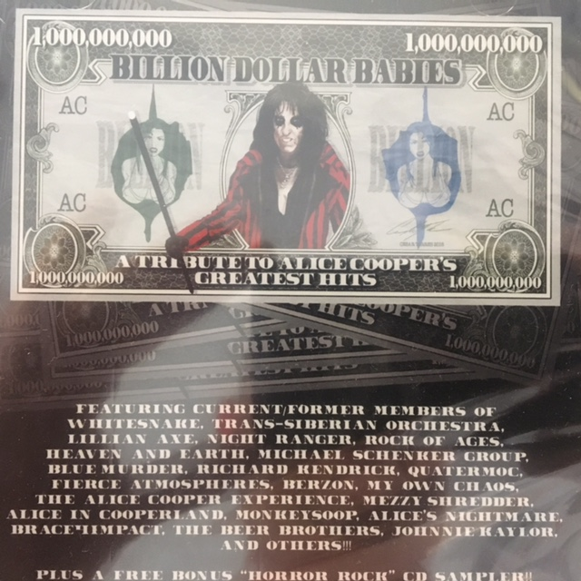 Billion Dollar Babies Tribute -  USA / CD / Tribute  / Sealed