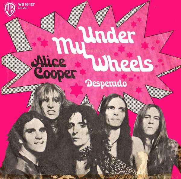 Under My Wheels / Desperado - German / Single / WB16127
