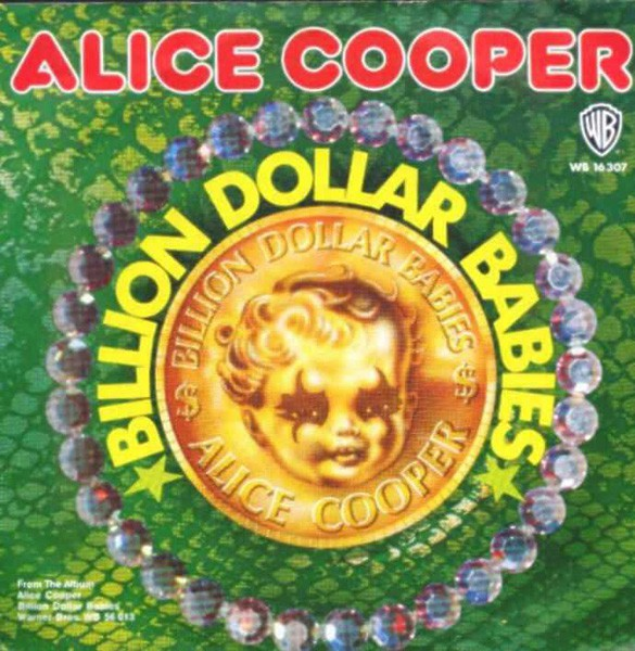 Billion Dollar Babies / Halo Of Flies - German / Single / WB16307