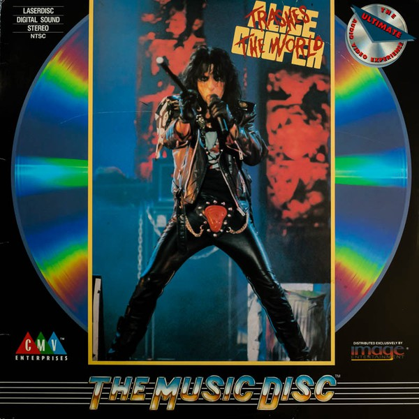 Trashes The World - USA Laser Disc / ID7578CB