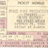 1986 -   October 31 The Nightmare Returns USA Tour / Michigan