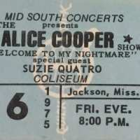 1975 -  June  06    Welcome To My Nightmare USA Tour / Missasippi