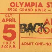 1975 -   April 05 Welcome To MY Nightmare USA Tour / Michigan