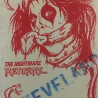 1986 - The Nightmare Returns / Cleveland / Guest / 8/11/1986
