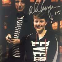 Alice Cooper to Bailey - Signed Photograph