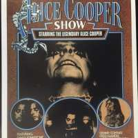 1976 - Australia - Print - The Alice Cooper Show Tour
