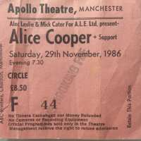 1986 -  November 29 The Nightmare Returns UK Tour / Manchester