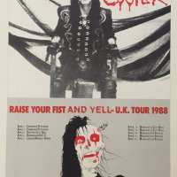 1988 - UK - Raise Your Fist And Yell Tour