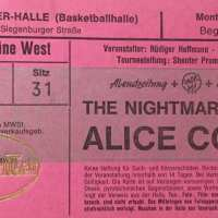 1988 - April 25 Raise Your Fist And Yell Germany Tour / Munchen