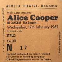1982 - Feb 17 Special Forces UK Tour / Manchester
