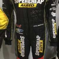 Race Suits - Tony D,alburto - 2014 - Supercheap Autos Racing
