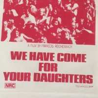 1971 - Australia - We Have Come for Your Daughter Movie