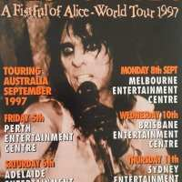 1997 - Australia - A Fistfull of Alice Tour