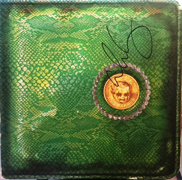 Billion Dollar Babies - USA - 1st Pressing  / Dark Green / BS2685 / Signed