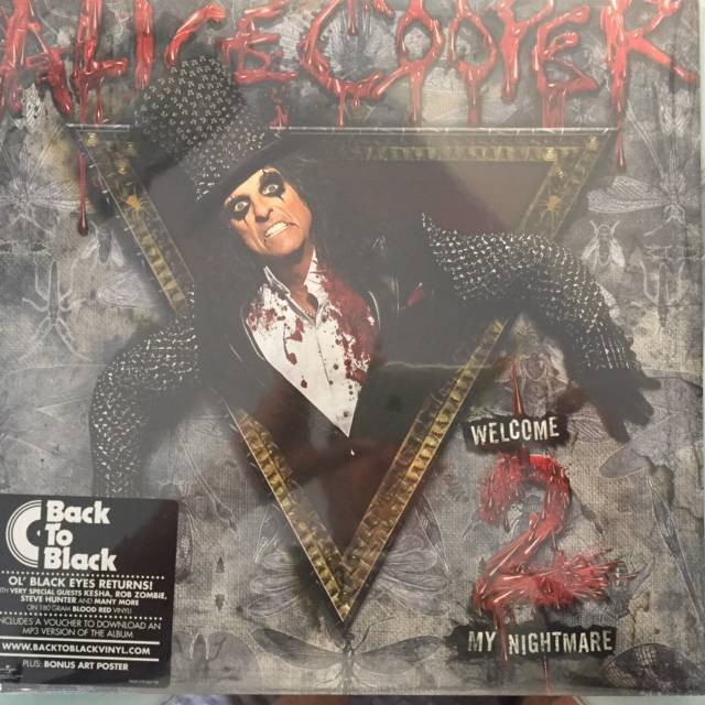 Welcome 2 My Nightmare - Europe  / 02527805474 / Red Vinyl /Sealed