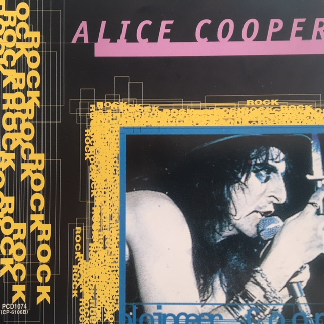 Alice Cooper - Rock Series - Japan / CD  / PCD1074