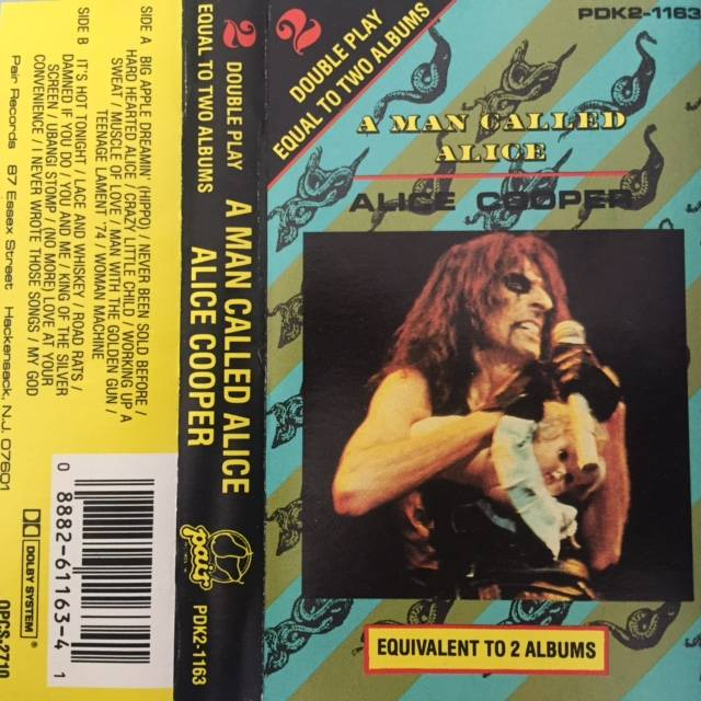 A Man Called Alice - USA / Cassette / PDK21163