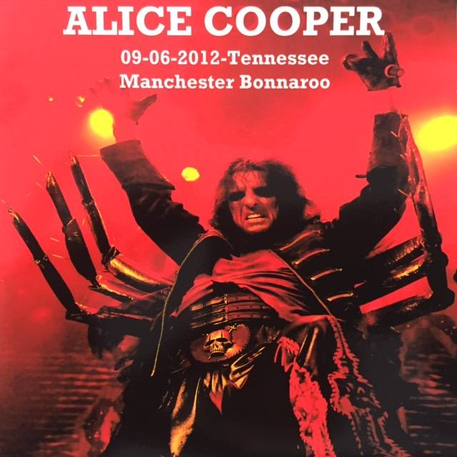 Alice Cooper - Tennessee Manchester Bonnaroo - USA / CD / No Name