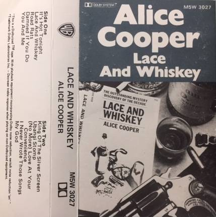 Lace And Whiskey - Australia /  Cassette / 1st Release / M5W3027