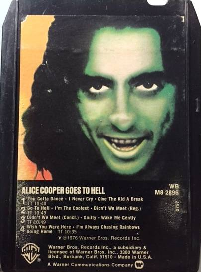 Goes To Hell - USA / 8 Track / WBM82896