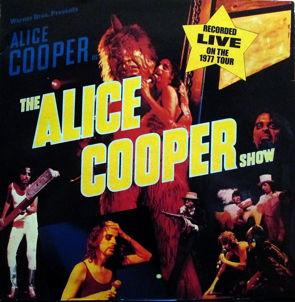 Alice Cooper Show - German / France - 2nd Pressing / WB56439 / Gema / Label Variant