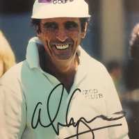 Alice Cooper - Signed Golf Photo
