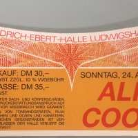 1988 - April 24 Raise Your Fist And Yell Germany Tour / Ludwigshafen