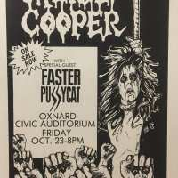 Flyer - 1987 / USA Raise Your Fist And Yell