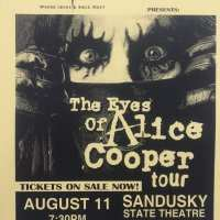 Flyer - 2004 / USA The Eyes Of Alice Cooper