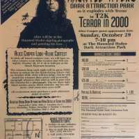 Flyer - 2000 / USA Haunted Hydro