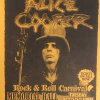 Flyer - 1999 / USA Rock N Roll Carnival
