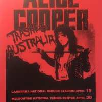 Flyer - 1990 / Australia Trash Tour