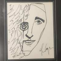 Alice Cooper - Signed Portrait